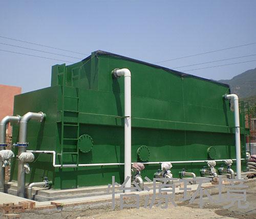 一体化净水设备现场