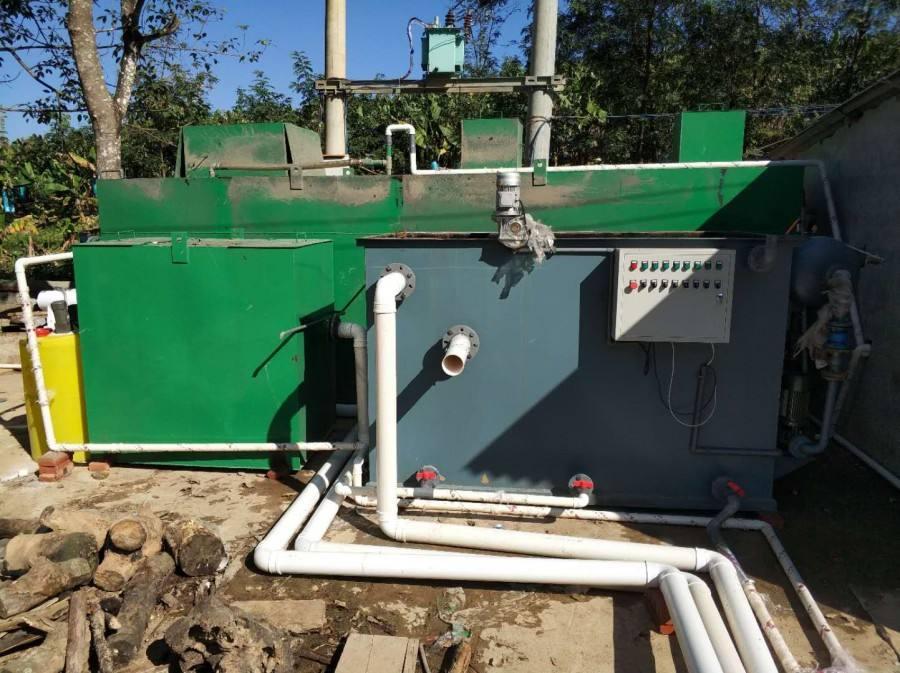 湖北黄石大冶市食品公司污水处理项目