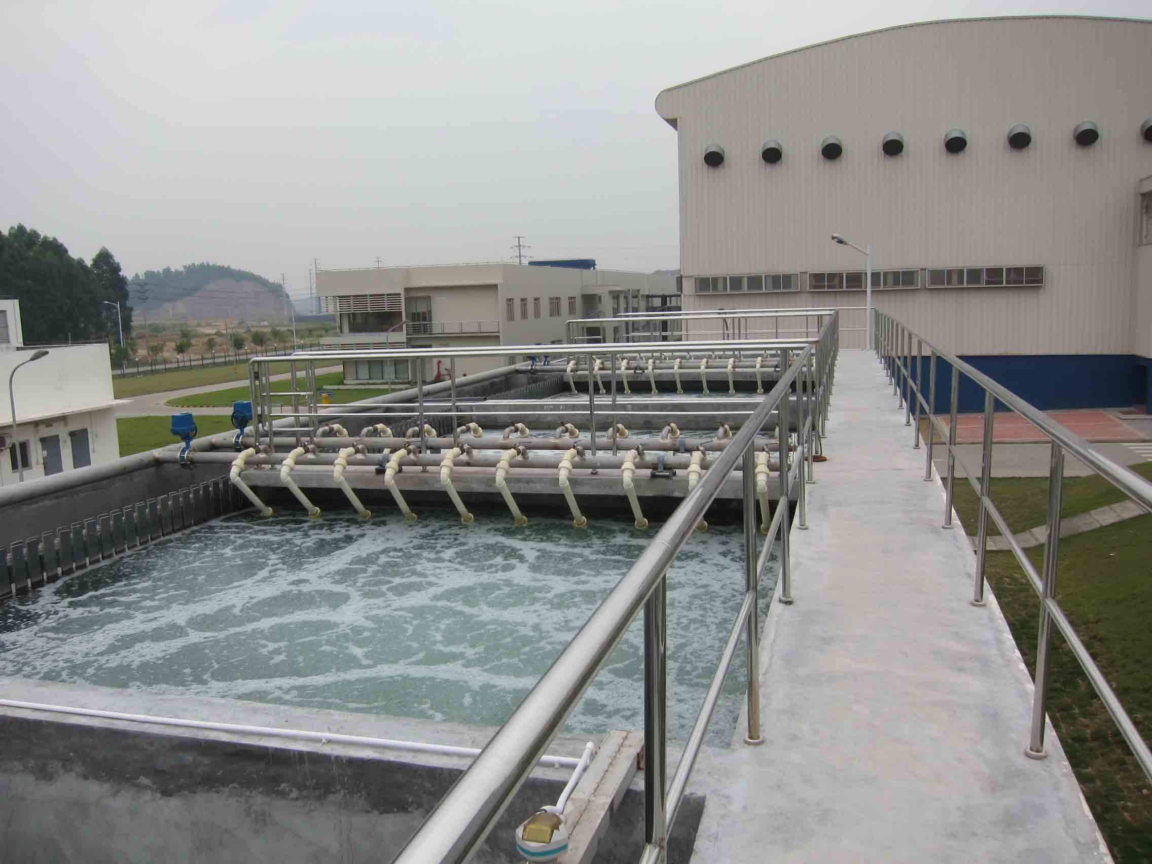 四川成都纸业生产污水处理项目