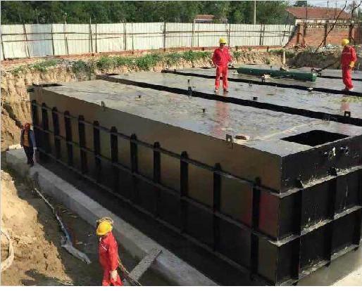 河南新乡养猪厂污水处理项目