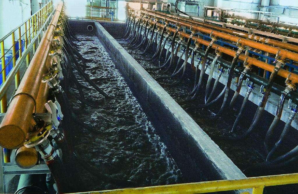 浙江长兴纺织印染污水处理项目