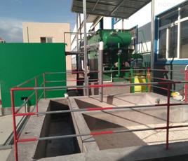 陕西华县医院污水处理项目
