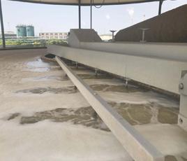 福建厦门造纸厂漂白废水处理项目