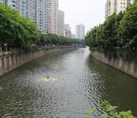 广东佛山河流黑臭水处理工程